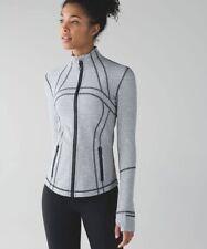 Lululemon Define Jacket Grey Herringbone Size Aus 8 Or Usa 4 Great Condition