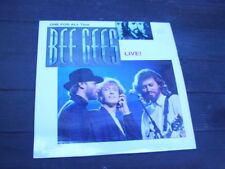 The Bee Gees Live! Laserdisc Maurice Barry Robin Gibb Disco