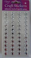 Brillante Gemas Adhesivo Brillantes Pegatinas / Tarjetas scrapbooking/floristry/glassware 4