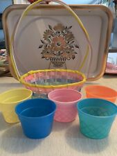 Easter Basket Dye Cups