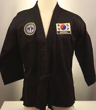 WORLD TAEKWONDO FEDERATION sz.3 Uniform GI - KOREA NUNCHAKU Halloween Karate