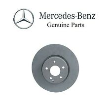 Mercedes W212 W204 C300 Vented Front Disc Brake Rotor Genuine 000421121207 NEW