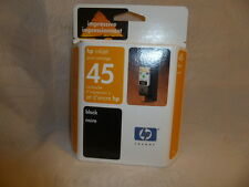 hp inkjet 45 Black Print Cartridge Genuine hp Product Singapore Aug 2004 New