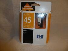 hp inkjet 45 Black Print Cartridge Genuine hp Product Singapore Aug 2004 New