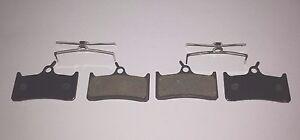 Hope Tech / Mono M4 Semi Metal Resin Disc Brake Pads - 2 pairs