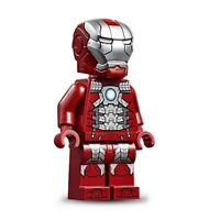 LEGO Iron Man Mark 5 Armor Minifigure sh566 From Super Heroes set 76125