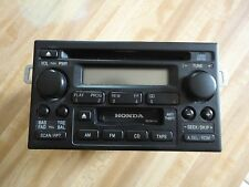 1998-2004 HONDA ACCORD ODYSSEY RADIO CD CASSETTE  39101-S84-A510-M1 OEM