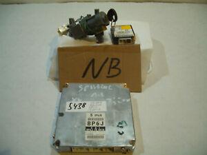 Engine Control Unit Immobiliser BP6JB 1,8 Nbfl Sporty MX5 MX-5 MK2.5 5438