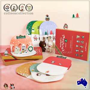 10pcs 3D Pop Up Merry Christmas Greeting Card Holiday Cards Gifts Wishes Cards