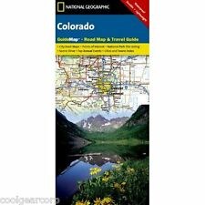 National Geographic GuideMap Colorado Road Map & Travel Guide GM00620553