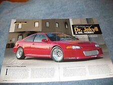 1993 Honda Civic EX Coupe Article 'Dr. Jekyll & Mr. Hobbs' B18C1 2.0L