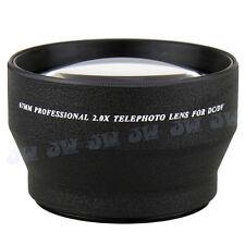 Universal Pro 2.0X Telephoto Lens for 67mm Thread Nikon Canon Sony Lens