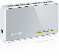 TP-Link 8-Port 10/100Mb Ethernet Switch Desktop Hubs Network Laptop NEW