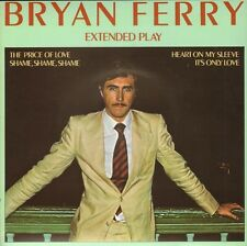 """BRYAN FERRY - Extended Play (1976 UK VINYL EP 7""""/ COVER BEATLES SONG)"""
