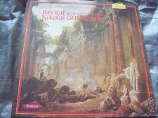 SEALED classical LP: Russia GHIAUROV Bass RECITAL,French FORLANE FIORETTI STEREO