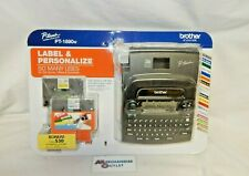 Brother P Touch Label Maker Pt 1890w With Tape Included See Description