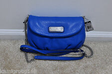 NWT Marc by Marc Jacobs New Q Karlie Cross Body Handbags Neptune Blue MSRP $258