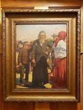Stefan Witold Matejko Original Signed Framed Oil Painting on board Poland NICE!!