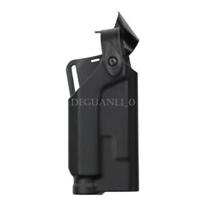 New Right Hand Automatic Locking Waist Gun Pistol Holster w/Light For Colt 1911