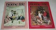 Vintage Magazines~ HOME LIFE~ 2 issues~1978~November & December~Christian family