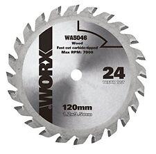 Worx Wa5046 Worxsaw 120 Mm 24T Tct Blade New UK SELLER