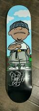 nos shortys charlie brown chale brown skateboard deck