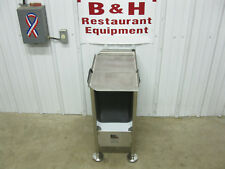 Face To Face M&E Deli Slicer Buddy Pre Weight Scale Stand Stainless Steel Table