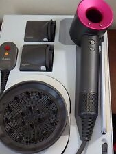 DYSON SUPERSONIC 1600W HAIR DRYER FUCHSIA 3 ATTACHMENTS & MAT NEW