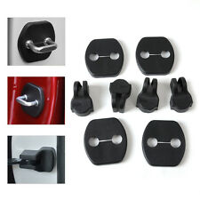 4x Door Striker Lock Protector + 4x Check Arm Cover Fit Nissan Murano Qashqai