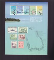 Cocos [Keeling] Islands Australia 50 years of Stamps Sheetlet