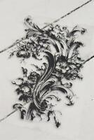 Jeanne d'Arc Living Stencil Stempel Filigree 25cm Schablone Wiederverwendbar