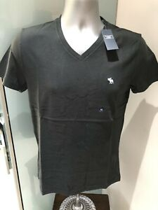 NEW MENS GENUINE ABERCROMBIE & FITCH ICON SOFT TEE TSHIRT HOLLISTER A&F X SMALL