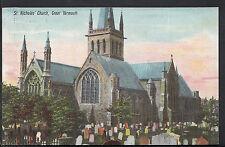 Norfolk Postcard - St Nicholas Church, Great Yarmouth   RS1636