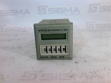 NTE Electronics INC. R65-11AD10 Digital time delay relay/counter