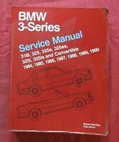 1984-1990 BMW 318i 325 325e 325es 325i 325is & Convertible Service Repair Manual
