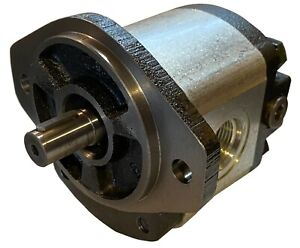 Hydraulic Gear Motor or Pump 26 cc/rev (1.58 in3/rev) 4-17gpm 30HP bi-direction