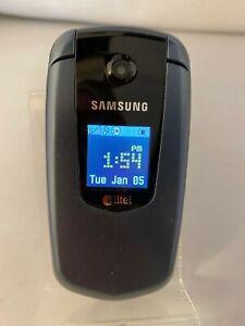 Samsung Flip Phone SCH-U350 Alltel Blue Cellular Phone