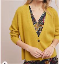 Anthropologie Velvet Graham & Spencer Halle Cardigan M Medium New Wool/Cashmere