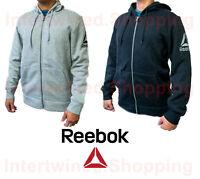Reebok Men's BQ31 Workout Ready Soft Warm Flexible Zip-up Speedwick Hoodie