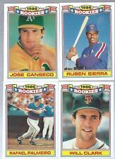 1987 Topps Baseball Rookies Complete Set 1-22