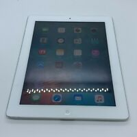 """Apple iPad 2 32GB Wi-Fi 9.7"""" Tablet A1395 White With Charging USB Cord - Tested"""