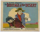 Zane Grey's The Heritage of the Desert Vintage 1924 Lobby Card w/ Bebe Daniels