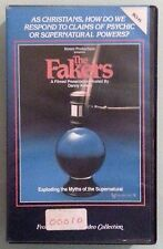 danny korem THE FAKERS exploding the myths of the supernatural  VHS VIDEOTAPE