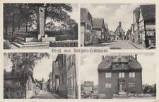 Ansichtskarte Hessen  Bergen Enkheim  4 Bilder  Trinkhalle Michler   1954