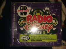 Radio Disney Jams 9 SEALED CD & DVD (BRAND NEW!) FAST SHIPPING!