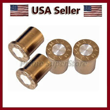 NEW 44 MAG BULLET VALVE STEM CAPS MOTORCYCLE CAR ATV & BICYCLES TIRE AIR COVER