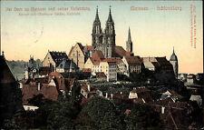 Meissen Meißen Sachsen AK 1908 Dom Kathedrale Kirche Schlossberg Künstlerkarte