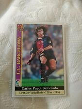 Carlos Puyol ROOKIE Card - Mundicromo 1999-00 - Great Condition