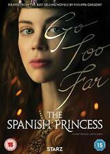 The Spanish Princess (DVD) Charlotte Hope, Ruairi O'Connor, Laura Carmichael