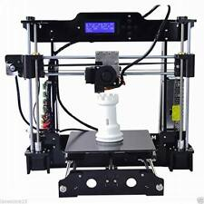2017 NEW Anet A8 Prusa I3 3D Printer DIY KIT 220*220*240mm LCD Screen MG